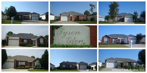 Tyson Glen Subdivision in Warner Robins GA 31088