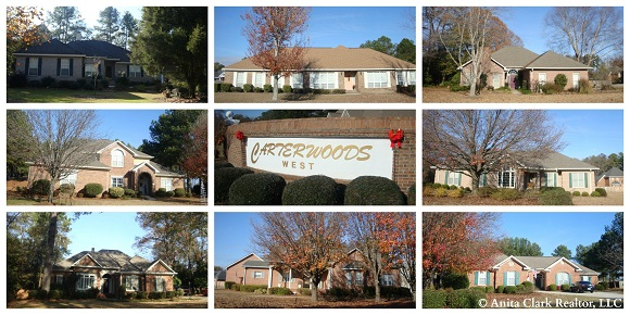 CarterWoods West Subdivision in Warner Robins GA 31088
