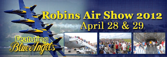 Things to do in Warner Robins: Enjoy the 2012 Robins AFB Air Show