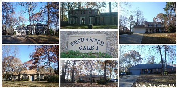 The Enchanted Oaks Subdivision in Bonaire GA 31005
