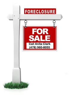 Foreclosures in Warner Robins Georgia 31088, September 2012