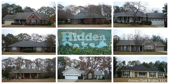 Hidden Oaks Subdivision in Warner Robins GA 31088