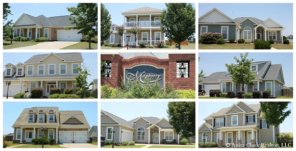 Mayberry Subdivision in Warner Robins GA 31088