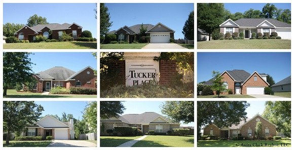 Tucker Place Subdivision in Warner Robins GA 31088