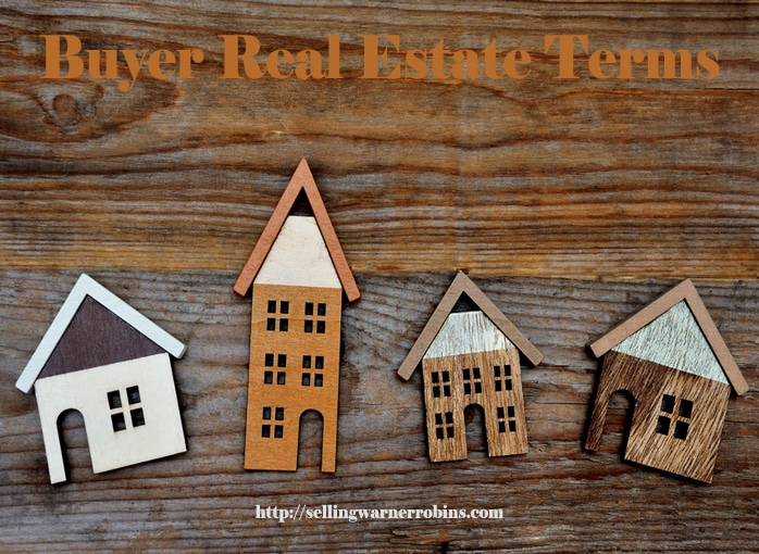 Buyer Real Estate Terms