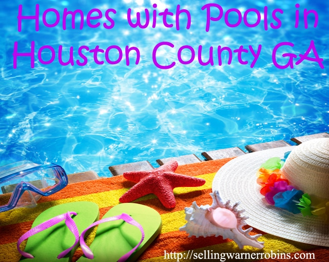Homes with Pools in Houston County Georgia in May 2016