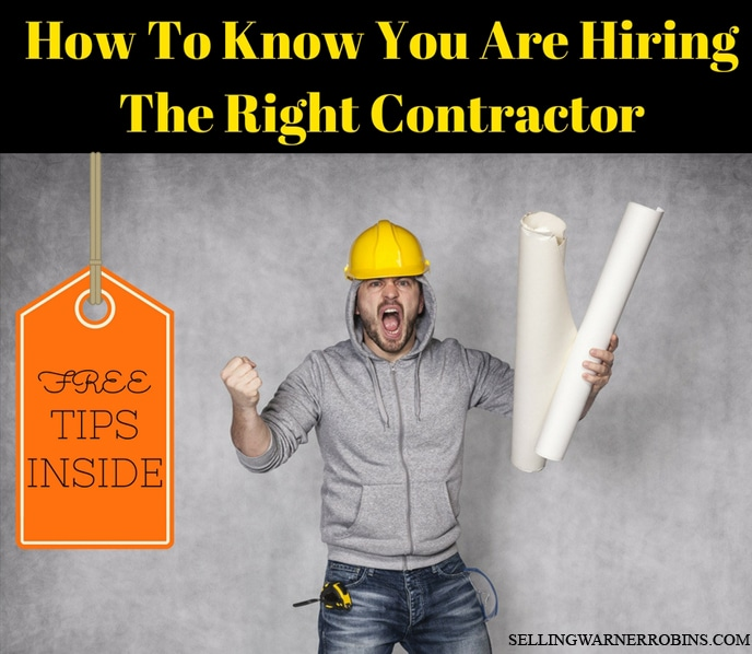 How To Know You Are Hiring The Right Contractor